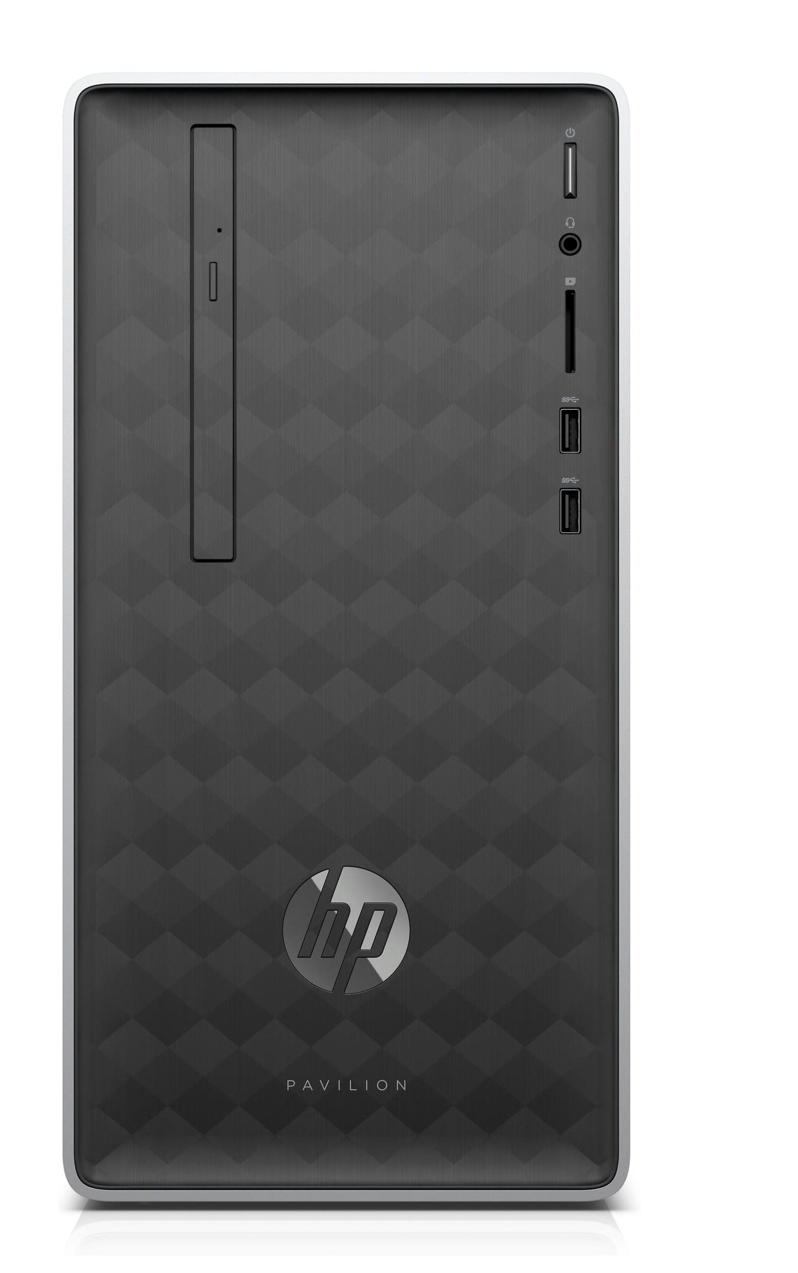 HP Pavilion 590-a0312ng Desktop PC »AMD Dual-Core A9, AMD Radeon R5,128 GB+1 TB, 8 GB«