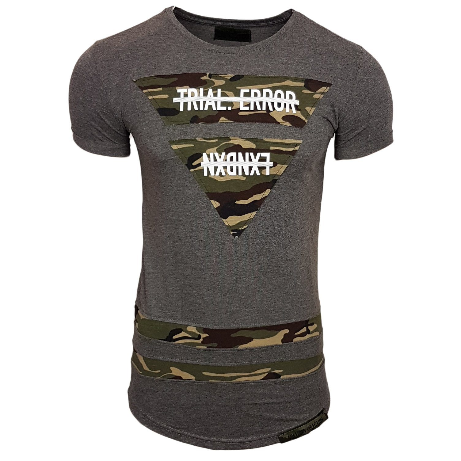 Rusty Neal T-Shirt mit tollem Military-Look