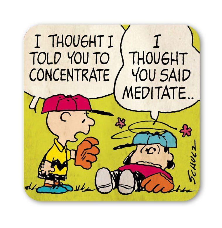 LOGOSHIRT Untersetzer im Charlie Brown-Design