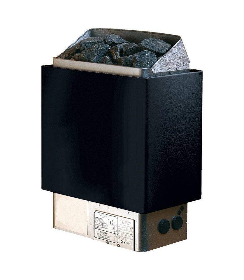 Saunaofen »Cup 80 D« in schwarz