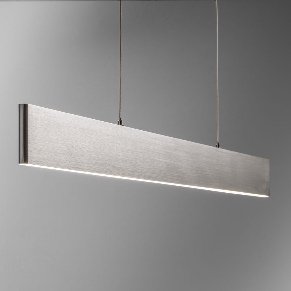Licht-Trend Hängeleuchte »Slim LED mit 3040lm Lumen in Alu-matt«