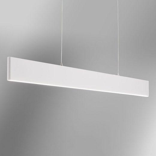 Licht-Trend Hängeleuchte »Slim LED mit 3040lm Lumen in Weiß«