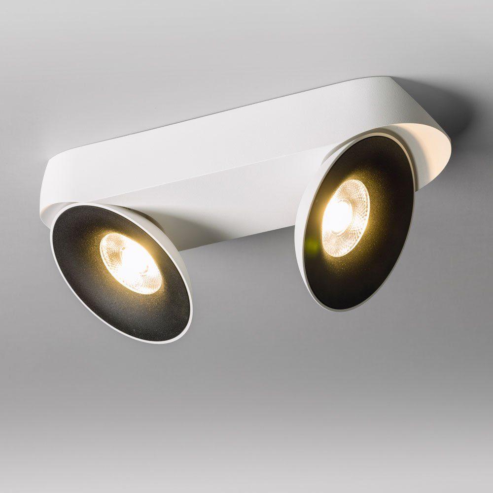 Licht-Trend Deckenleuchte »Santa 2er LED schwenkbar & dimmbar 2 x 810lm«