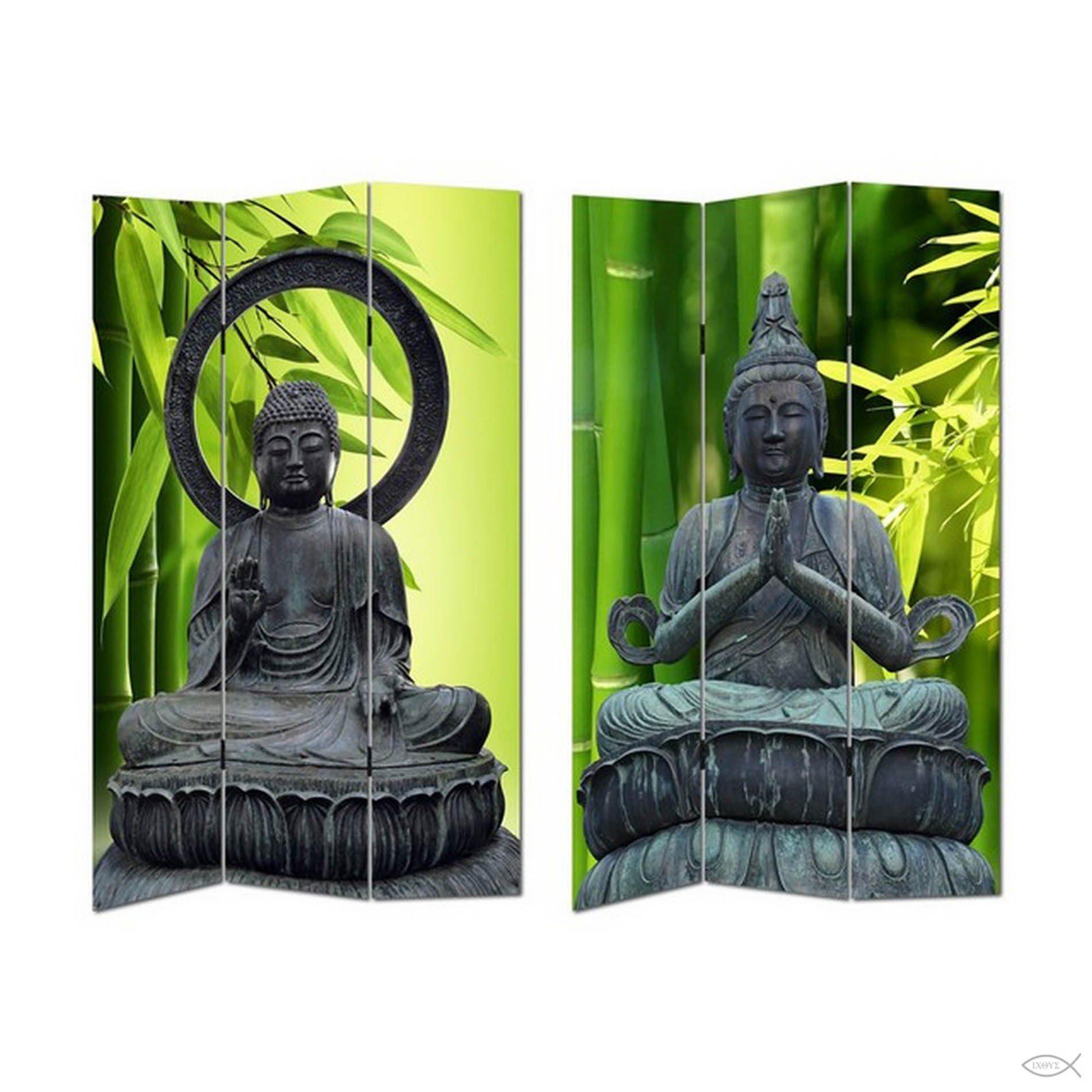 HTI-Line Paravent »Buddha 2«