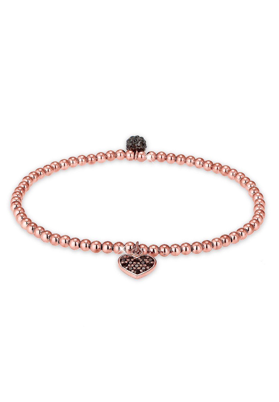 Elli Armband »Herz Symbol Swarovski® Kristalle 925 Silber« | Schmuck > Armbänder > Silberarmbänder | Silber | Elli