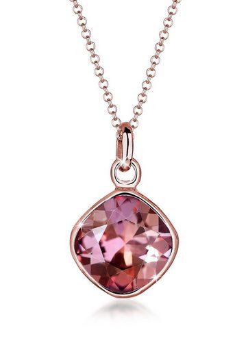 Elli Collierkettchen »Trend Kristalle 925 Sterling Silber«