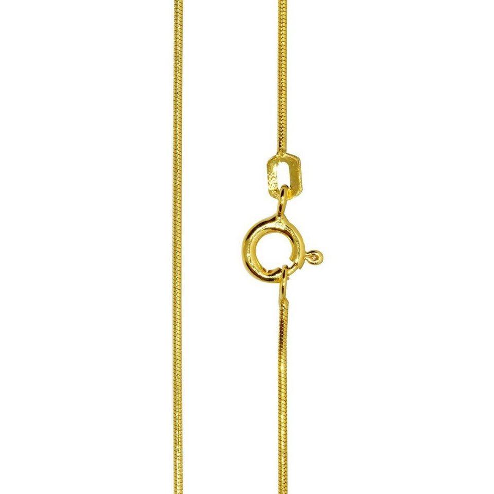 ostsee schmuck goldkette schlange 0 8 gold 333 000. Black Bedroom Furniture Sets. Home Design Ideas