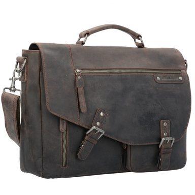 d5t3s4p Leder Messenger nr Kaufen Vintage Revival Laptopfach Artikel 38 Greenburry Online Cm qU1wWtaP