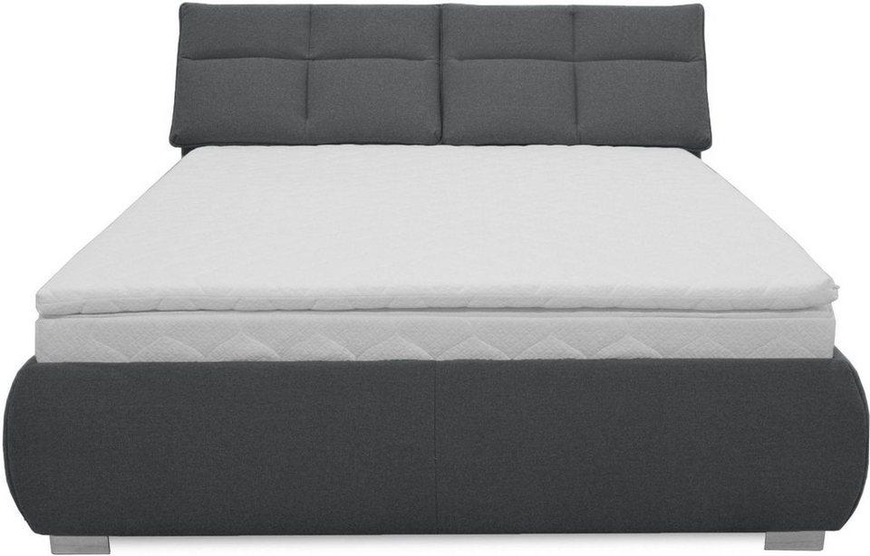 inosign boxspringbett salus mit bequemer kopfteilverstellung online kaufen otto. Black Bedroom Furniture Sets. Home Design Ideas