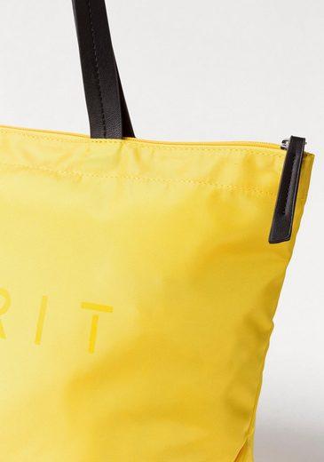 Shopper Logoprint Esprit Auffälligem Mit Mit Esprit Logoprint Shopper Auffälligem PX8qSn