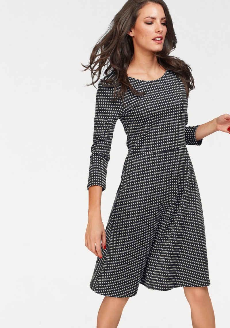 Aniston SELECTED Jerseykleid im Retro-Style