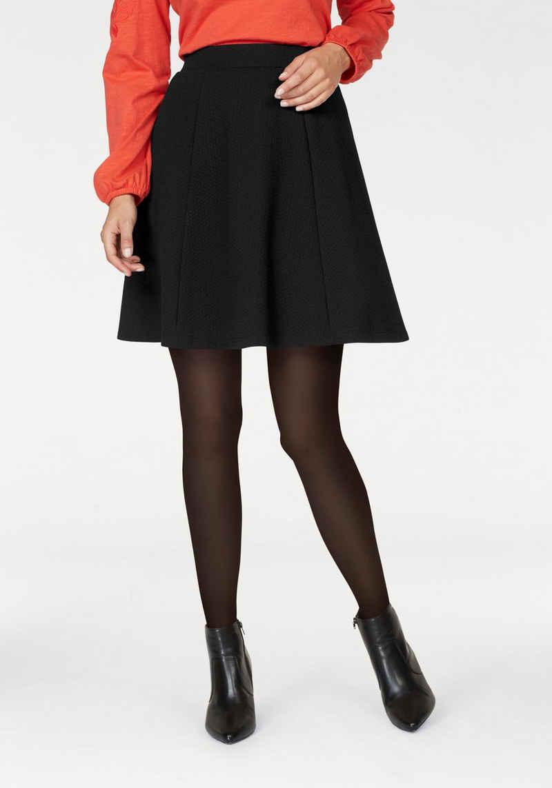 Aniston SELECTED Jerseyrock mit Struktur