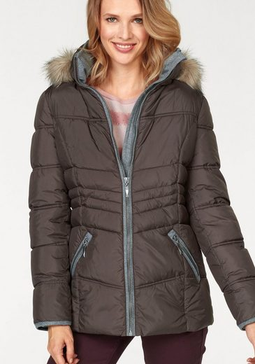 Aniston CASUAL Steppjacke mit winterwarmen Futter