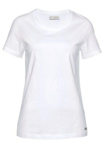 Cheer T-Shirt (Packung, 2-tlg., 2er-Pack) aus reiner Baumwolle