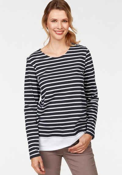 2-in-1 Shirts für Damen » Doppellagiges Shirt kaufen   OTTO b59ae51890