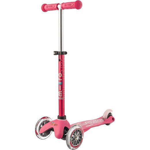 Micro Kickboard mini Deluxe, pink
