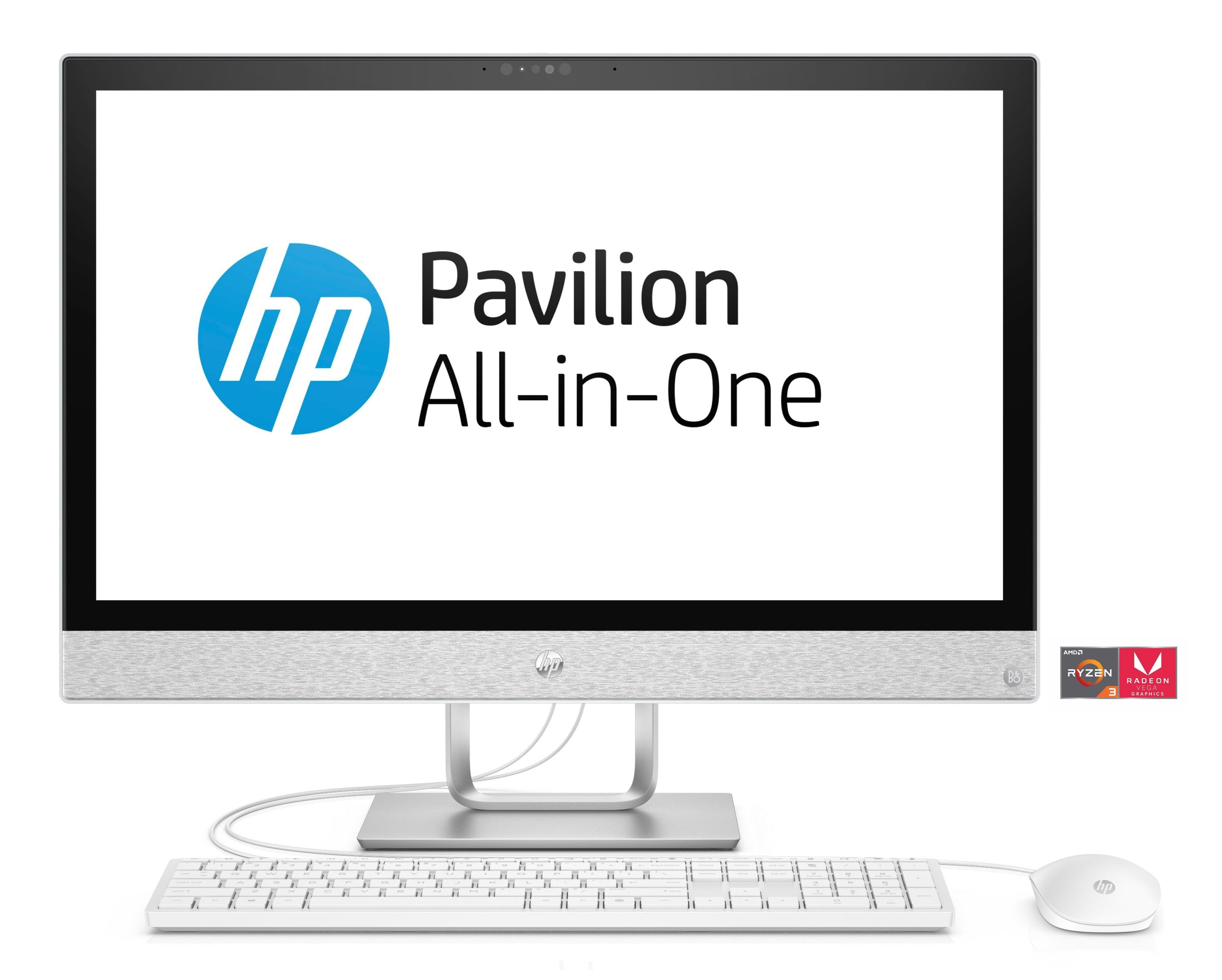 "HP Pavilion 24-r158ng All-in-One PC »AMD Ryzen 3, 60,4 cm (23,8"") 1 TB, 8 GB«"