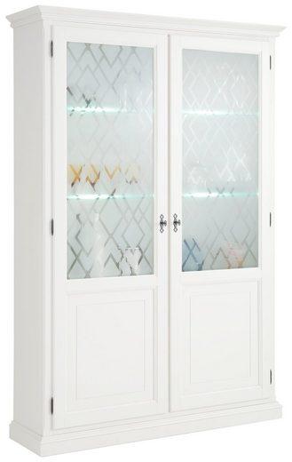 Premium collection by Home affaire Vitrine »Kodia« 2-türig, inklusive LED Beleuchtung