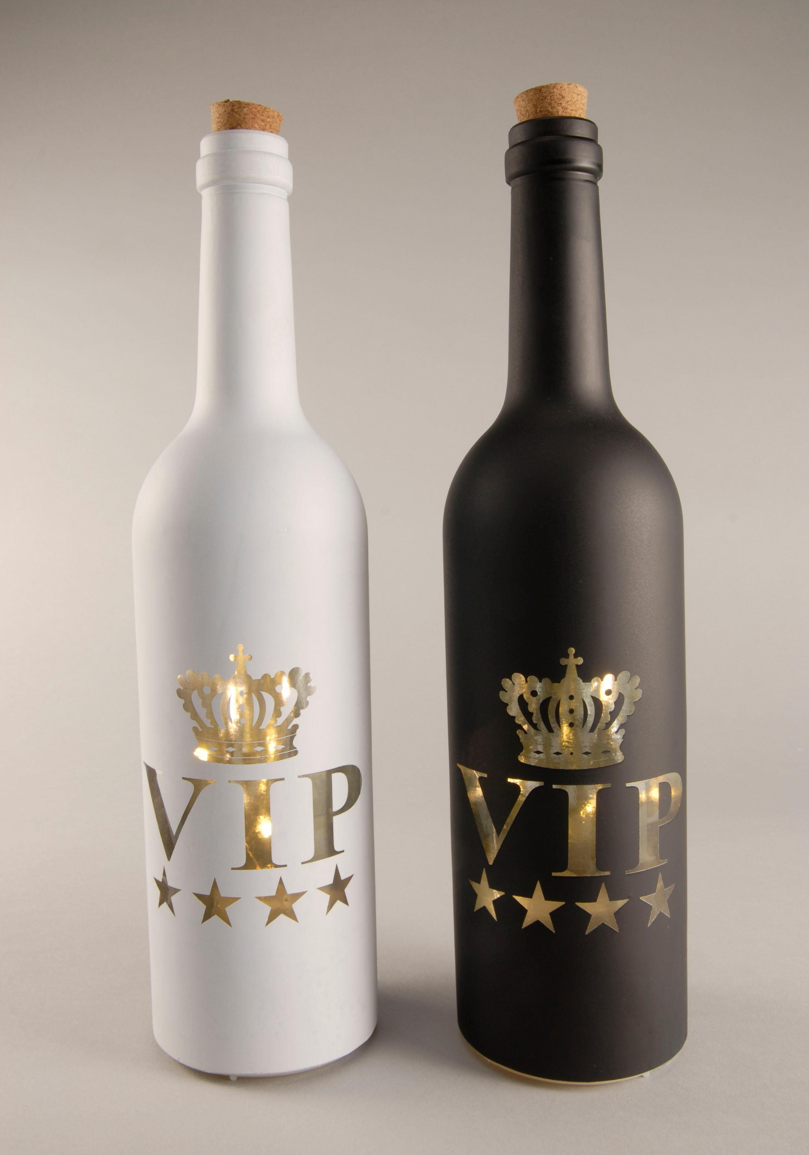 Home affaire LED-Flasche VIP (2-tlg.)
