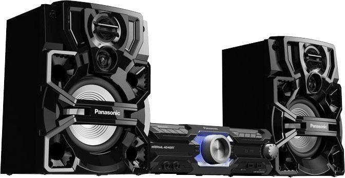 Panasonic »SC-AKX710E-K« Kompaktanlage (Bluetooth, FM-Tuner mit RDS, 2000 W)