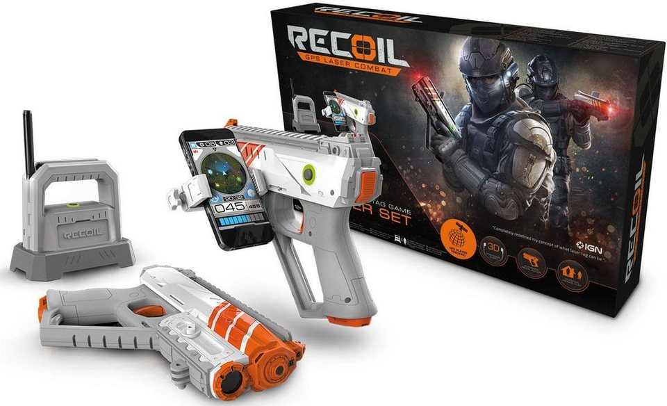 Goliath Laser Spielset,  Recoil Starter Set