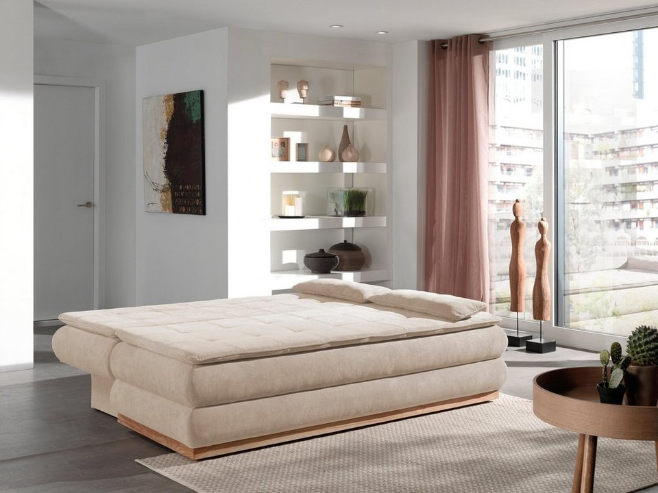 home affaire schlafsofa taurus mit bettkasten. Black Bedroom Furniture Sets. Home Design Ideas