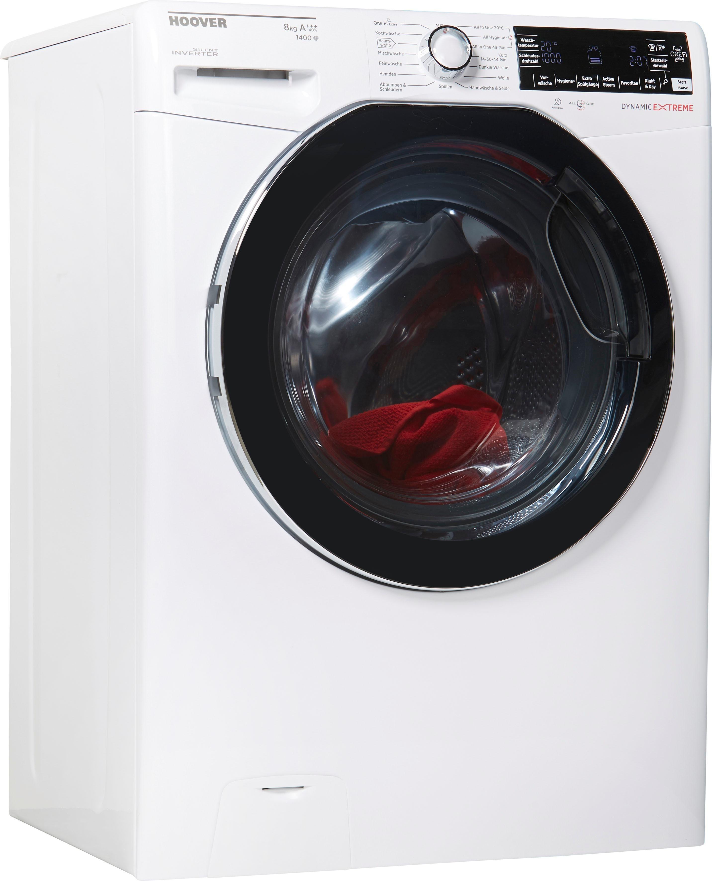 Hoover Waschmaschine Dynamic Extreme, 8 kg, 1400 U/Min