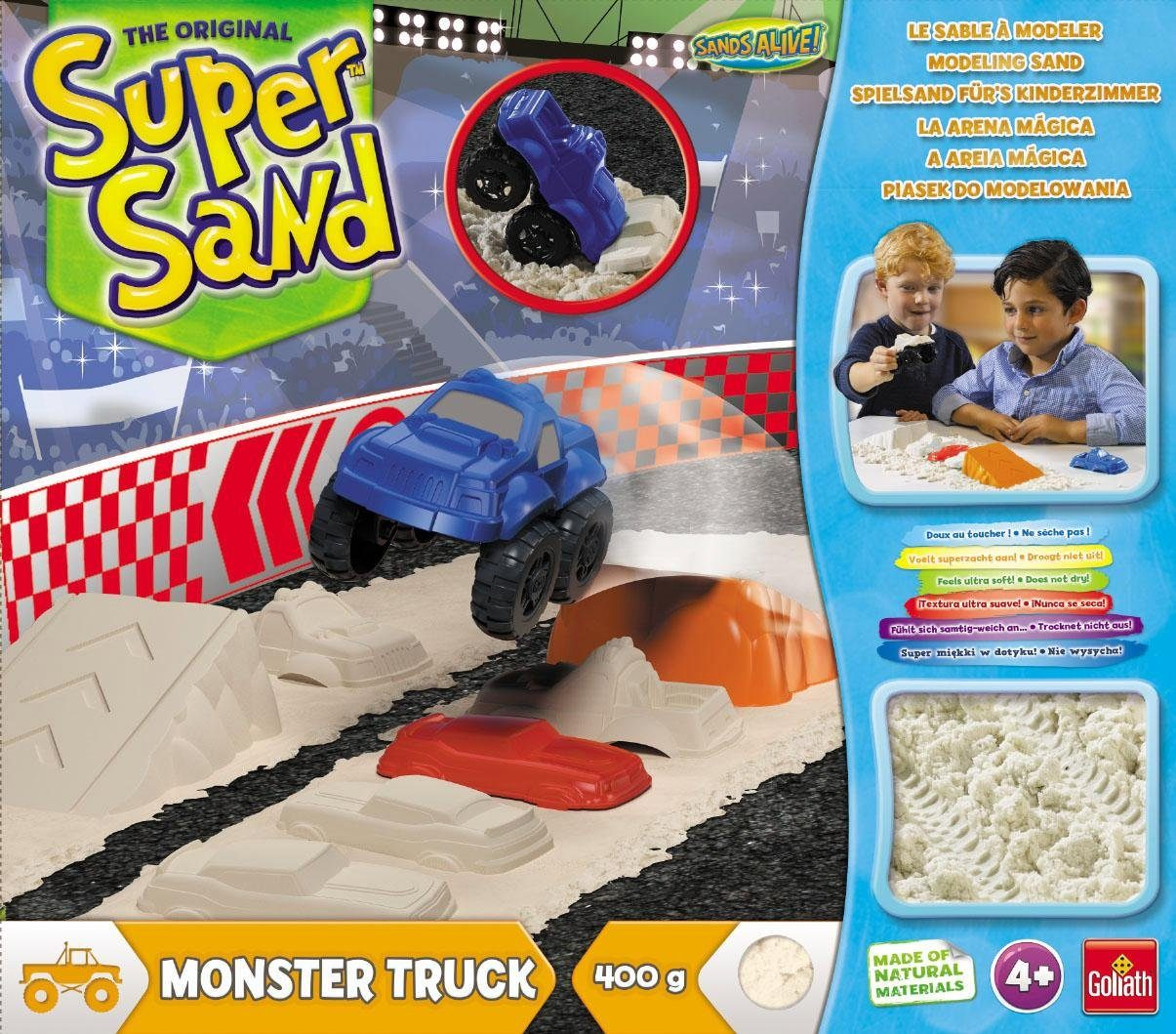 Goliath Kreativspiel, »Super Sand Monster Truck«