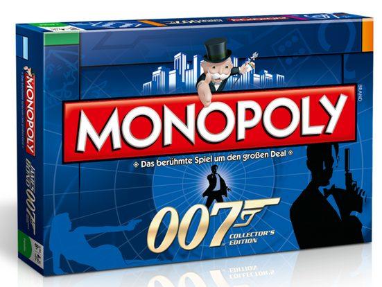 Winning Moves Spiel, Brettspiel »Monopoly James Bond 007«