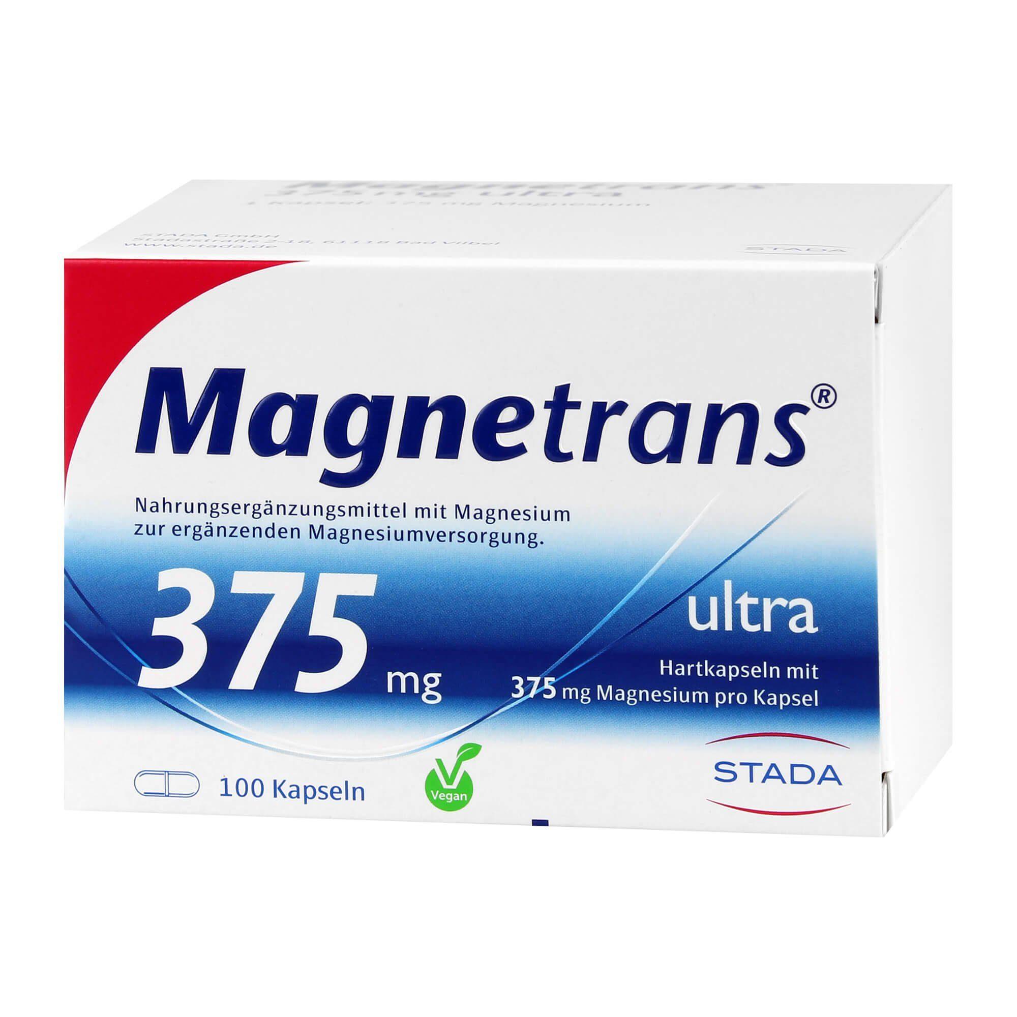 Magnetrans ultra Kapseln 375 mg, 100 St