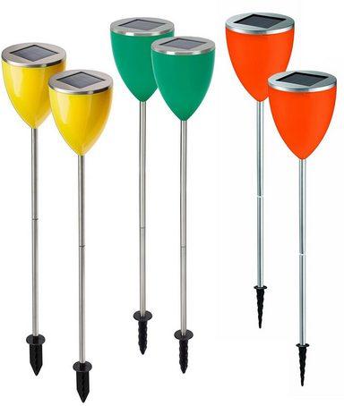 LED Gartenleuchte »COPA«, 6er-Set mit Dämmerungsschalter