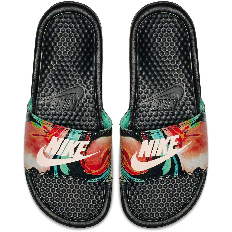 Nike Sportswear Slides BENASSI Sandale kaufen  schwarz-rosé-mint