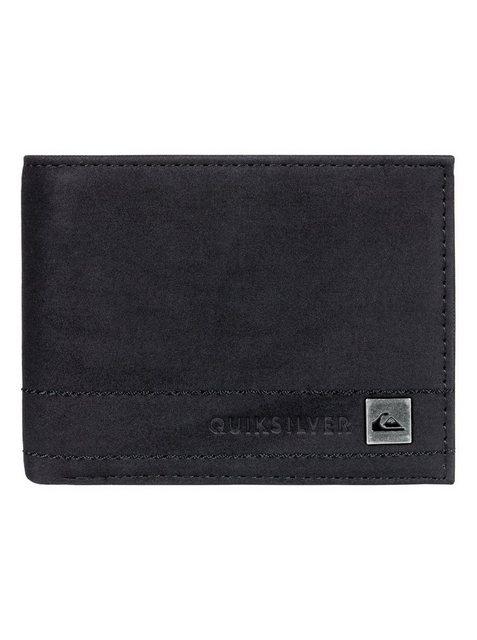 Quiksilver Zweifach faltbare Brieftasche »Stitchy« | Accessoires > Portemonnaies > Brieftaschen | Schwarz | Pu | Quiksilver