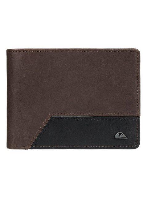 Quiksilver Zweifach faltbare Brieftasche »Pathway« | Accessoires > Portemonnaies > Brieftaschen | Grau | Quiksilver