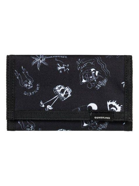 Quiksilver Dreifach faltbares Portemonnaie »The Everydaily« | Accessoires > Portemonnaies > Sonstige Portemonnaies | Schwarz | Quiksilver