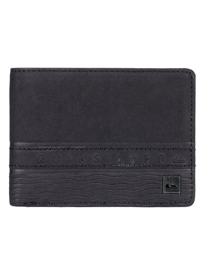 Quiksilver Zweifach faltbare Brieftasche »Everyday Stripe« | Accessoires > Portemonnaies | Schwarz | Pu | Quiksilver