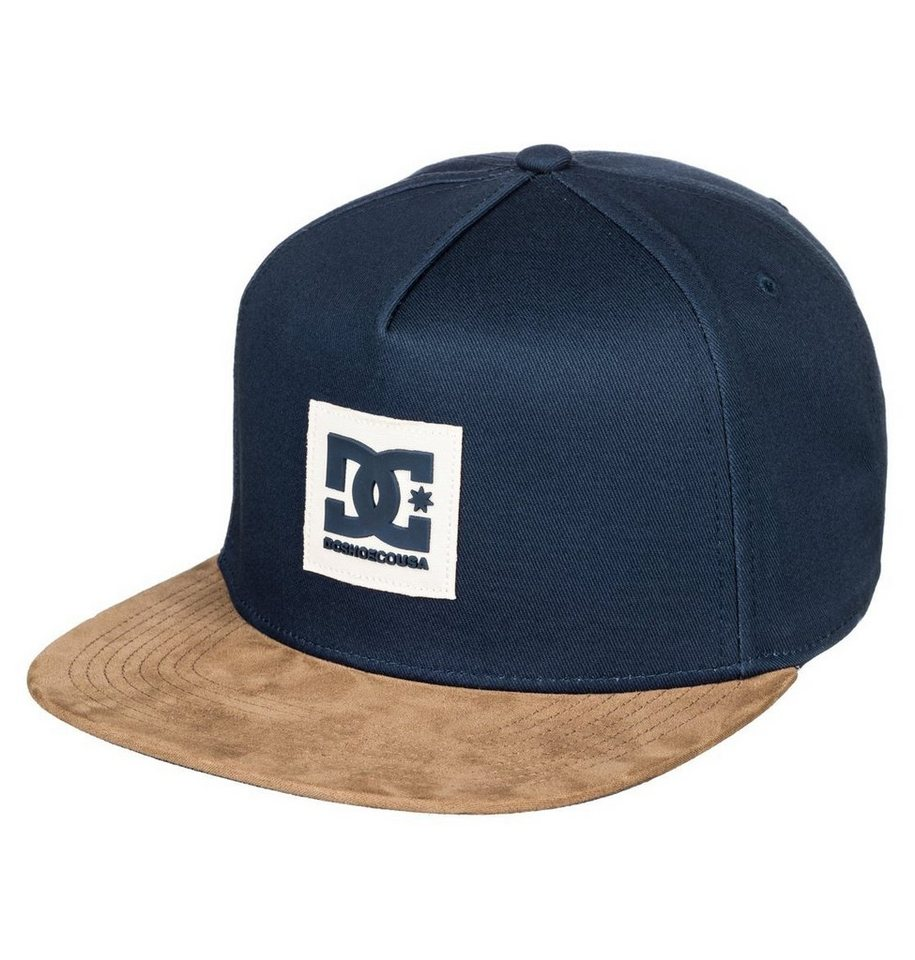 dc shoes snapback cap dacks kontrastfarbener wildleder. Black Bedroom Furniture Sets. Home Design Ideas