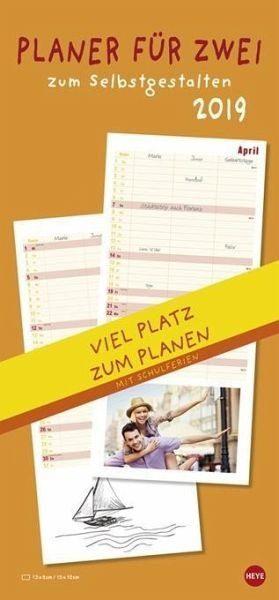 Kalender »Planer für Zwei zum Selbstgestalten 2019«