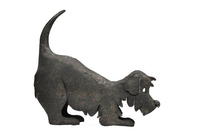 HTI-Living Dekofigur »Metallhund« | Dekoration > Figuren und Skulpturen > Tiere | Metall | HTI-Living