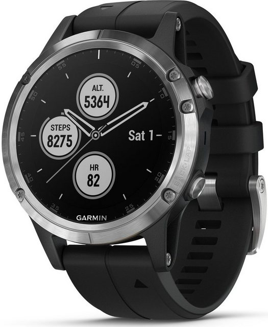 Smartwatches - Garmin Smartwatch »fenix 5 Plus«  - Onlineshop OTTO