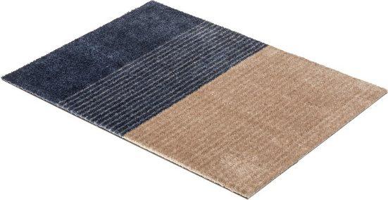 Fußmatte »Manhattan 003«, SCHÖNER WOHNEN-Kollektion, rechteckig, Höhe 7 mm, waschbar