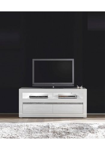 Lowboard Carat, Breite 150 cm weiß   04054574065190