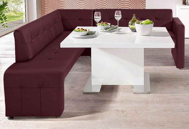 exxpo - sofa fashion Eckbank »Barista«, Frei im Raum stellbar
