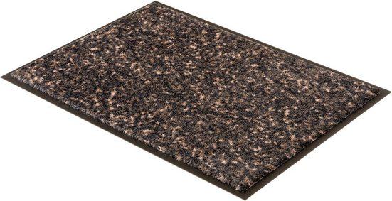 Fußmatte »Miami 004«, SCHÖNER WOHNEN-Kollektion, rechteckig, Höhe 7 mm, Schmutzfangmatte, waschbar