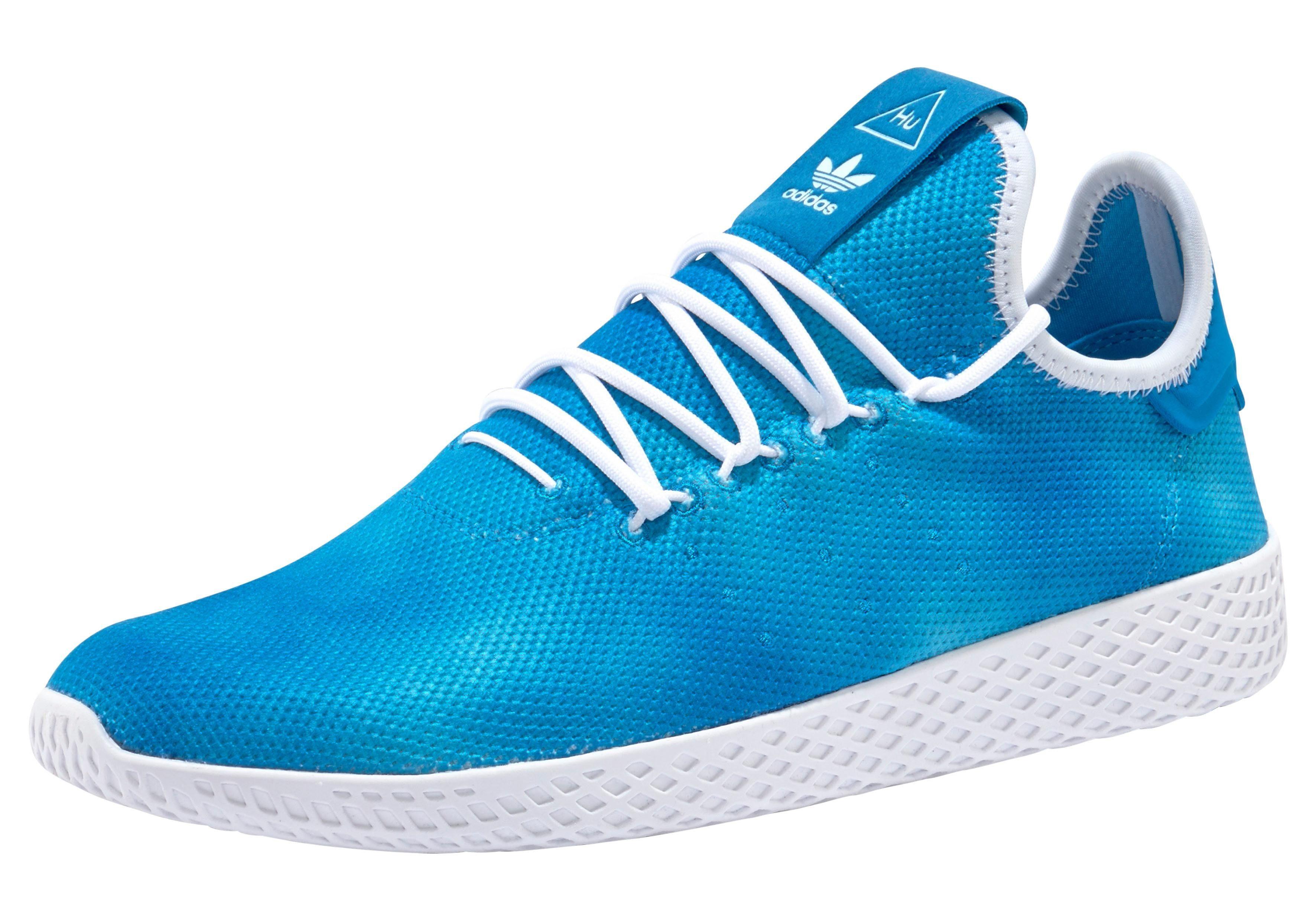 adidas Originals PW HU Holi Tennis Sneaker, Pharrell Williams online kaufen  blau-hellblau