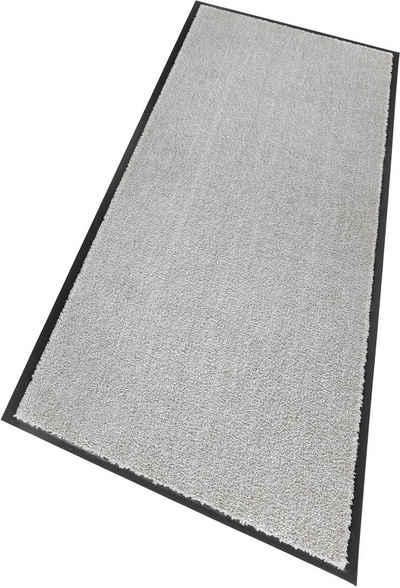 Läufer »Miami Uni«, SCHÖNER WOHNEN-Kollektion, rechteckig, Höhe 7 mm, Schmutzfangläufer, Schmutzfangteppich, Schmutzmatte, waschbar