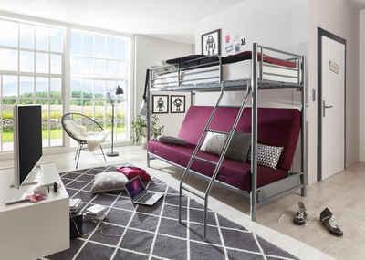 Etagenbett Metall Mit Couch : Metallbett online kaufen » eisenbett & stahlbett otto
