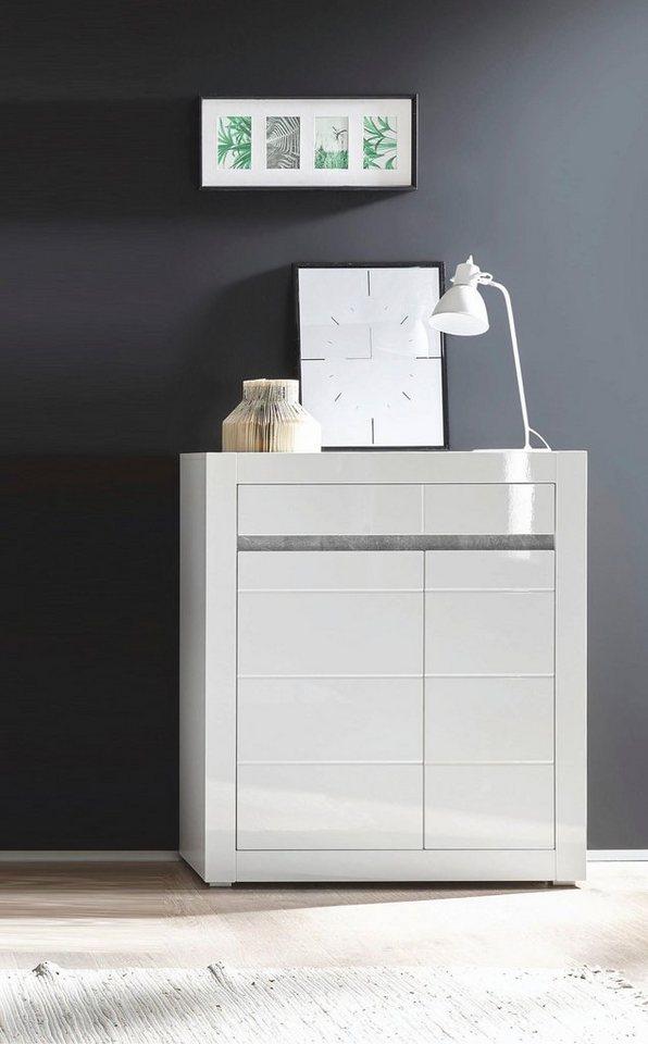 Kommode Carat  Breite 100 cm weiß   04054574065084