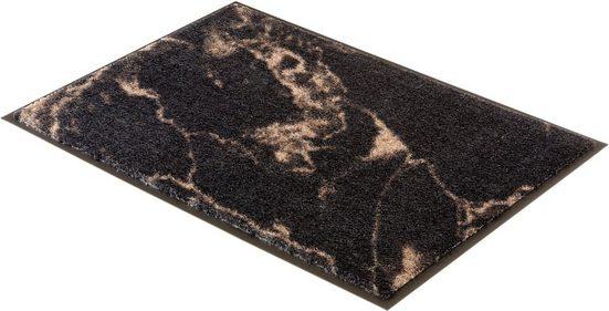 Fußmatte »Miami 001«, SCHÖNER WOHNEN-Kollektion, rechteckig, Höhe 7 mm, Schmutzfangmatte, waschbar