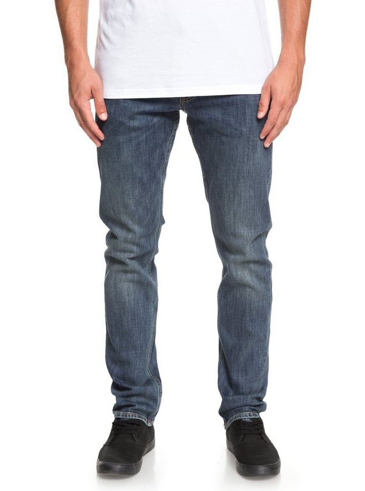 65746ea049752c Quiksilver Straight Fit Jeans »Revolver Medium Blue«